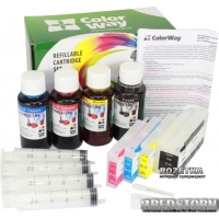 Комплект ПК ColorWay HP950 (1pigm+3x100) (H950RC-4P.1)