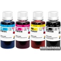 Комплект чернил ColorWay Epson L-100/200 (4х100мл) BK/С/M/Y (CW-EW101SET01)