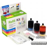 Набор для заправки картриджа ColorWay HP121/122/650 Color 3x20 мл (CW-HW103CMY)