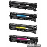 Комплект картриджей ColorWay HP (СF380A/СF381A/СF382A/СF383A) BK/C/M/Y (CW-H380MSET)