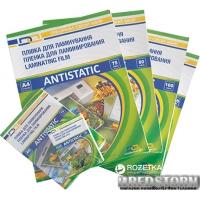 Пленка для ламинации D&A art Antistatic A4 216 х 303 мм 125 мкм (11201011209YA)