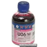 Чернила WWM U06 Canon/HP/Lexmark/Xerox 200 мл Magenta (U06/M)