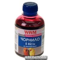 Чернила WWM E82 Epson Stylus Photo T50/P50/PX660 200 мл Magenta (E82/M)
