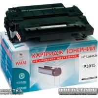 Картридж Laser WWM HP LJP3015/M525, 55A, CE255A (LC39N)