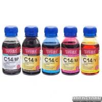 Набор чернил WWM для Canon CLI-451/CLI-470 Пигментные/Водорастворимые 5х100г BP/B/C/M/Y (C14SET5-2)