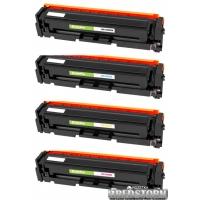Комплект картриджей ColorWay HP (СE400A/СE401A/СE402A/СE403A) BK/C/M/Y (CW-H400MSET)