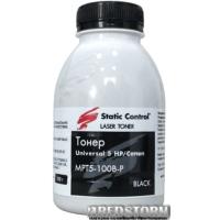 Тонер Static Control универсальный 5 HP/Canon 100 г (MPT5-100B-P)