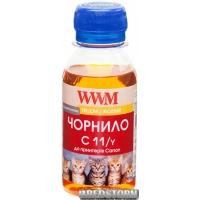 Чернила WWM C11 для Canon CL-511С/CL-513С/CLI-521Y 100 г Yellow (C11/Y-2)