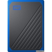 "Western Digital My Passport Go 1TB 2.5"" USB 3.0 Blue (WDBMCG0010BBT-WESN) External"