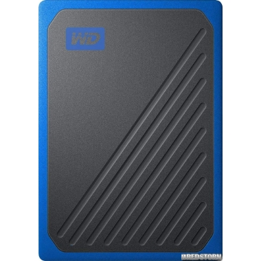 "SSD Western Digital My Passport Go 1TB 2.5"" USB 3.0 Blue (WDBMCG0010BBT-WESN) External"