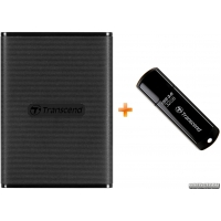 Transcend ESD230C 240GB USB 3.1 Type-C 3D NAND TLC (TS240GESD230C) External + Transcend JetFlash 700 32GB в подарок!