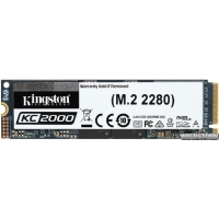 Kingston KC2000 1TB NVMe M.2 2280 PCIe 3.0 x4 3D NAND TLC (SKC2000M8/1000G)