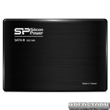 "SSD Silicon Power Slim S60 120GB 2.5"" SATAIII MLC (SP120GBSS3S60S25)"