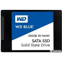 "Western Digital Blue SSD 500GB 2.5"" SATAIII 3D V-NAND (WDS500G2B0A)"