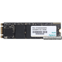 Apacer AS2280P2 240GB NVMe M.2 PCIe 3.0 TLC (AP240GAS2280P2-1)