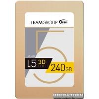 """Team L5 Lite 3D 240GB 2.5"""" SATAIII 3D TLC (T253TD240G3C101)"""