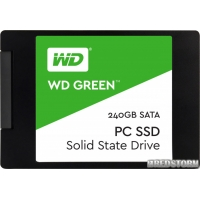 "Western Digital Green SSD 240GB 2.5"" SATAIII TLC (WDS240G1G0A)"