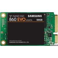 Samsung 860 Evo-Series 500GB mSATA SATA III V-NAND TLC (MZ-M6E500BW)