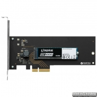 Kingston KC1000 480GB NVMe M.2+Card PCIe 3.0 MLC (SKC1000H/480G)
