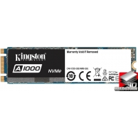 Kingston SSD A1000 960GB NVMe M.2 2280 PCIe 3.0 3D NAND TLC (SA1000M8/960G)