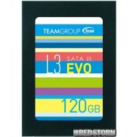 """Team L3 EVO 120GB 2.5"""" SATAIII TLC (T253LE120GTC101)"""