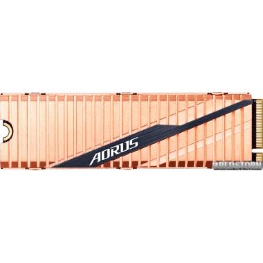 SSD Gigabyte Aorus NVMe Gen4 SSD 1TB M.2 2280 NVMe PCIe 4.0 x4 3D NAND TLC (GP-ASM2NE6100TTTD)