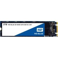 Western Digital Blue SSD 2TB M.2 2280 SATAIII 3D NAND (WDS200T2B0B)