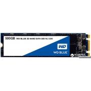 Western Digital Blue SSD 500GB M.2 2280 SATAIII 3D V-NAND (WDS500G2B0B)