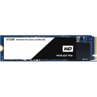 Western Digital Black SSD 512GB M.2 2280 PCI Express 3.0 TLC (WDS512G1X0C)