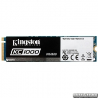 Kingston KC1000 960GB NVMe M.2 2280 PCIe 3.0 MLC (SKC1000/960G)