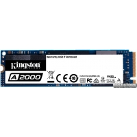 Kingston A2000 500GB NVMe M.2 2280 PCIe 3.0 x4 3D NAND TLC (SA2000M8/500G)