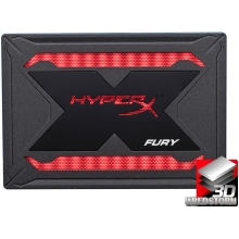 "Kingston SSD HyperX Fury RGB Upgrade Kit 960GB 2.5"" SATAIII TLC (SHFR200B/960G)"