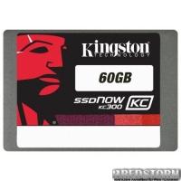"Kingston SSDNow KC300 60GB 2.5"" SATAIII MLC (SKC300S37A/60G)"