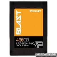 """Patriot Blast 480GB 2.5"""" SATAIII TLC (PBT480GS25SSDR)"""