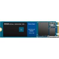 Western Digital Blue SN500 NVMe SSD 500GB M.2 2280 PCIe 3.0 x2 3D NAND (TLC) (WDS500G1B0C)