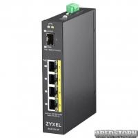 Неуправляемый PoE-коммутатор Zyxel RGS100-5P гигабитный (RGS100-5P-ZZ0101F)