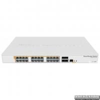 PoE-коммутатор MikroTik CRS328-24P-4S+RM гигабитный (CRS328-24P-4S+RM)
