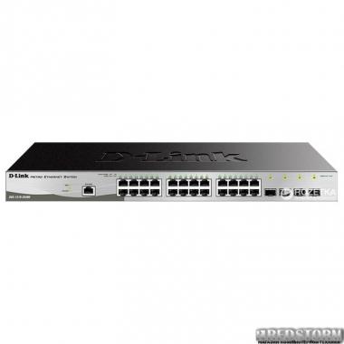 Коммутатор D-Link DGS-1210-28/ME/P/B гигабитный (DGS-1210-28/ME/P/B)