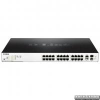 PoE-коммутатор D-Link DGS-1100-26MPP (518 Вт) гигабитный (DGS-1100-26MPP)