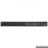 Неуправляемый PoE-коммутатор Cisco SB SG110-24HP (100 Вт) гигабитный (SG110-24HP-EU)