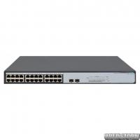 Неуправляемый коммутатор HP OfficeConnect 1420-24G-2SFP гигабитный (JH018A)