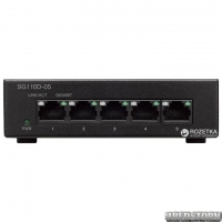 Неуправляемый коммутатор Cisco SB SG110D-05 гигабитный (SG110D-05-EU)