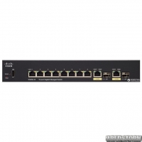 Коммутатор Cisco SB SG350-10 гигабитный (SG350-10-K9-EU)