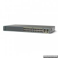 Коммутатор Cisco SB Catalyst 2960 Plus 24 10/100 + 2 T/SFP_LAN Lite (WS-C2960+24TC-S)