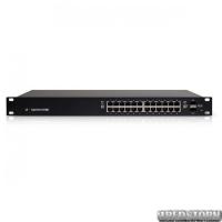 Коммутатор Ubiquiti EdgeSwitch ES-24-250W(24*1000Мбит PoE+, 2*SFP, 250W max)