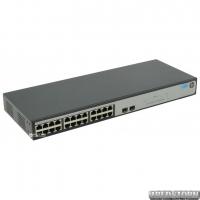 Неуправляемый коммутатор HP OfficeConnect 1420-24G-2SFP гигабитный (JH017A)