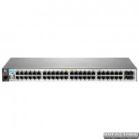 PoE-коммутатор HP Aruba 2530-48G-PoE+ (382 Вт) гигабитный (J9772A)