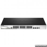 PoE-коммутатор D-Link DGS-1510-28LP/ME (193 Вт) гигабитный (DGS-1510-28LP/ME)