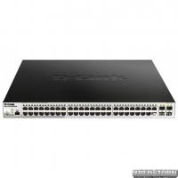 PoE-коммутатор D-Link DGS-1210-52MPP/ME (740 Вт) гигабитный (DGS-1210-52MPP/ME)