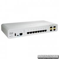 Коммутатор Cisco Catalyst 2960C Switch 12 FE PoE, 2 x Dual Uplink, Lan Base WS-C2960C-12PC-L